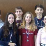 L'équipe de badminton vice championne départementale !