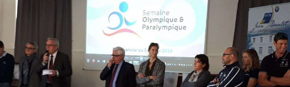 Paris 2024, semaine olympique au lycée Jean Dautet