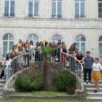 Visite d'étudiants canadiens