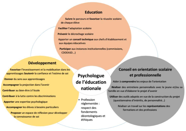 Les Psychologues De L'Education Nationale Au Service Du
